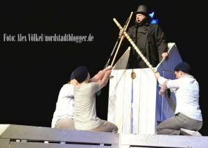 Moby Dick ist eine aktuelle Eigenproduktion des Theaters im Depot. Foto: Alex Völkel