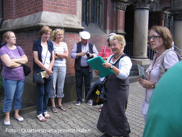 Annette Kritzler ist begeisterte Nordstadt-Bewohnerin. Foto: Quartiersmanagement Hafen