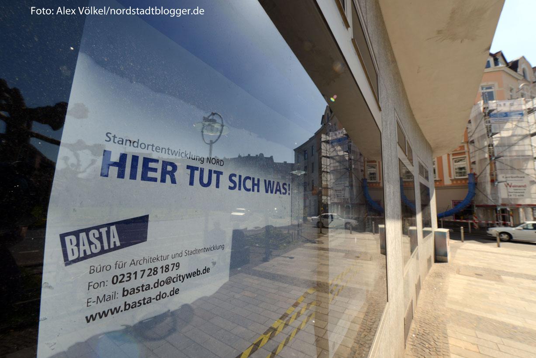 """""""Hier tut sich was"""" könnte auch das Motto für die gesamte Nordstadt sein. Foto: Alex Völkel"""