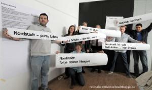150 Einsendungen von Akteuren und Bewohnern der Nordstadt sind eingegangen. Foto: Alex Völkel