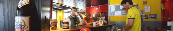 """Neuer Vorstoß: Verwaltungsspitze will den Trinkraum  """"Café Berta"""" im Rahmen der Haushaltskonsolidierung schließen"""