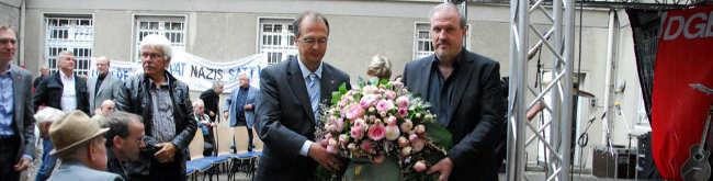 Scharfer Protest von SLADO und BlockaDo: Neonazi-Kundgebung würde Dortmunder CSD stören