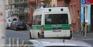 Polizeieinsatz in der Nordstadt, hier Streife am Nordmarkt