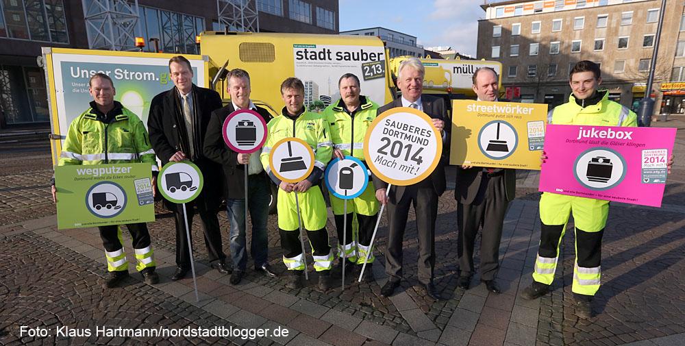 Sauberes Dortmund, Auftakt zu stadtweiten Mitmach-Aktionen