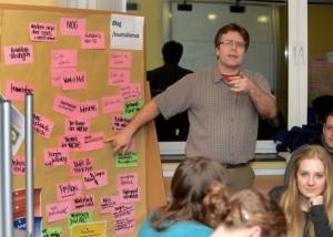 Die Auftakt-Veranstaltung für Pottwahl - der Kommunalwahl-Aktion für junge Leute - fand im FHH statt.