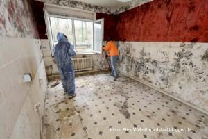 Die Eigentümer machen eine Räumung im Problemhaus Gronaustraße 42