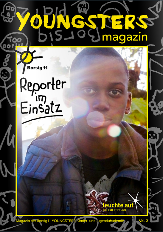 Reporter im Einsatz: YOUNGSTERS-Magazin Vol. 2
