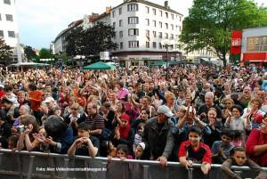 Das Münsterstraßenfest  ist integraler Bestandteil der Internationale Woche. Archivbild: Alex Völkel