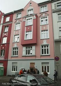 Bundesministerin Barbara Hendricks zu Gast in der Nordstadt. Das Haus an der Brunnenstraße