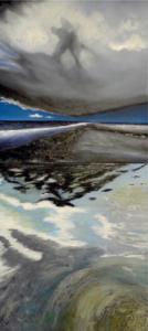 Thomas Ohm (Malerei) und Gülizar Sakar (Fotografie) stellen in der Galerie von Brigitte Bailer aus.