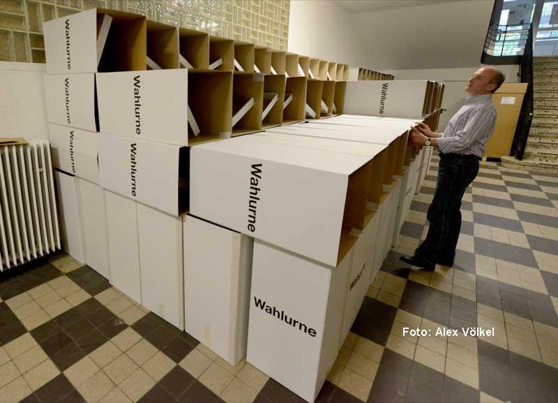 Am 14. Mai ist Landtagswahl - dann müssen nicht nur die Wahlurnen bereitstehen.
