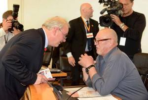 Im Rat zeichnet sich eine Zusammenarbeit von Axel Thieme (NPD) und Siegfried Borchardt (Die Rechte) ab.