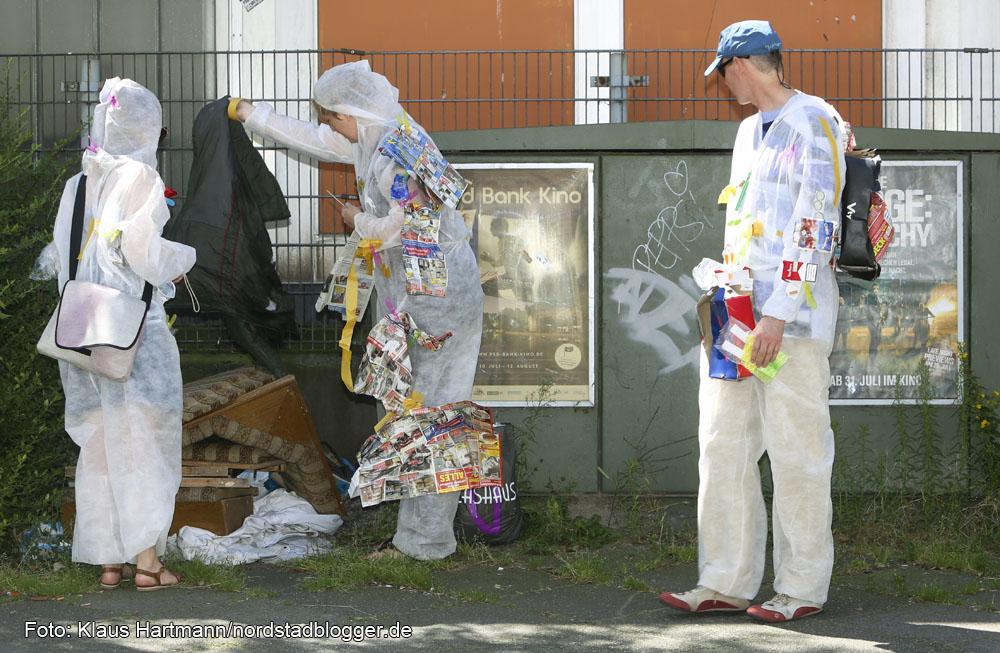Trash Tour durch das Borsigplatzviertel mit Susanne Bosch.