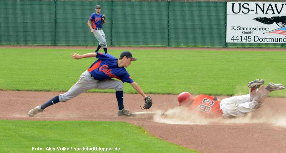 Baseball-Play-Downs in der Bundesliga-Nord: Dortmund Wanderers vs Cologne Cardinals