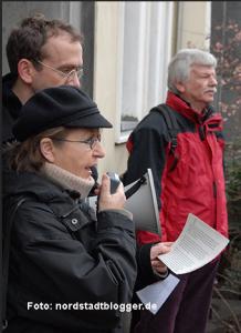 Ula Richter vom Bündnis Dortmund gegen Rechts