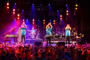 Micro! Festival 2014 Pelemele aus Deutschland. Foto: Georg Mueller
