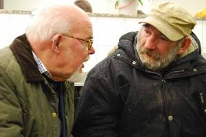 Seelsorger Alfons Wiegel arbeitet seit Jahrzehnten als Wohnungslosenseelsorger in Dortmund. Foto: Regine Beyß