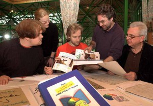 Die Jury-Sitzung für das Carla-Chamäleon-Buch.