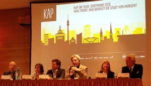 Prominent besetzt war das KAP-Forum - und gut besucht.
