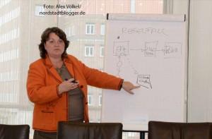 Diane Jägers informierte über die Entwicklungen.