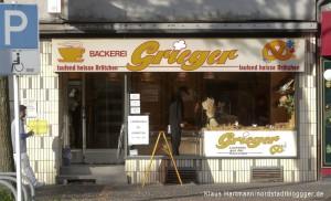 Geschäftsaufgabe in der Schützenstraße. Bäckerei Grieger