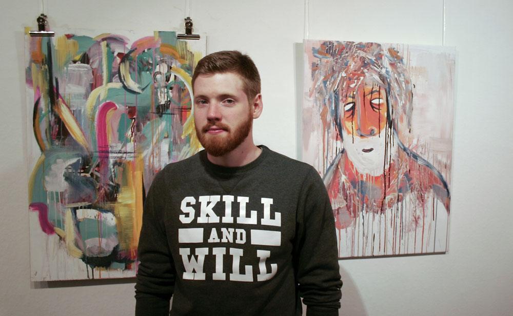 Lukas Boelter stellt in Friedrichshafen/Bodensee aus