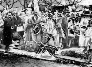 Die Deportation von Juden