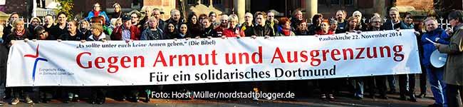 Aktion gegen Armut und Ausgrenzung – Stadtrundgang: Armut und Obdachlosigkeit im Dortmunder Norden