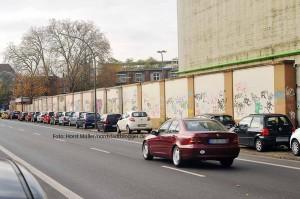 Gestaltungswettbewerb für Kraftwerks-Mauer an der Weißenburger Straße gestartet