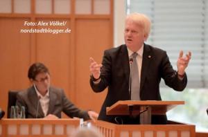 OB Ullrich Sierau sprach zur Einbringung des Haushalts.