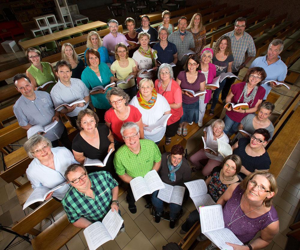 Chor Canta-Strophe. Foto: Dietmar Wäsche