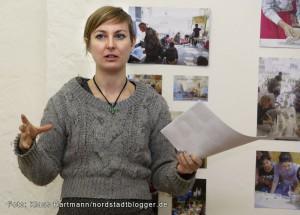 Fachhochschule vor Ort verabschiedet sich von den kreativen Projekten in der Nordstadt. Kollektiv Nord in der Missundestraße. Anja Plonka
