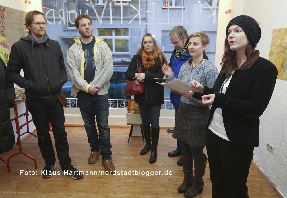 Fachhochschule vor Ort verabschiedet sich von den kreativen Projekten in der Nordstadt. Kollektiv Nord in der Missundestraße