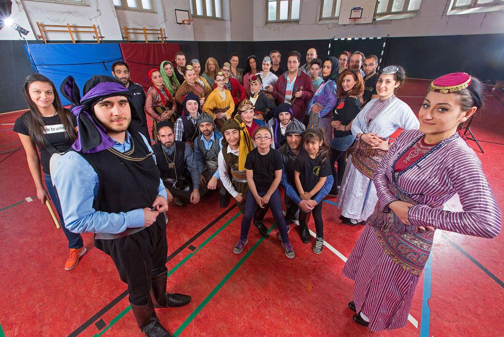 Xeniteas, Griechischer Folkloreverein. Foto: Klaus Hartmann