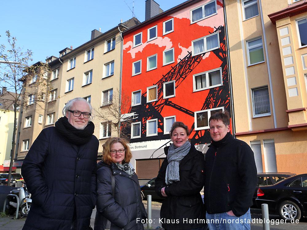 Künstler Dortmund keine förderung mehr für fassadengestaltung in der nordstadt
