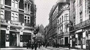 Blick in die historische Brückstraße, in der die Elkans wohnten. Foto: Archiv Kolbe/ AgGmbH