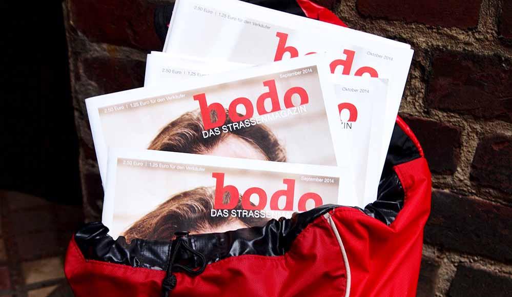 Zehn Verkäuferinnen und Verkäufer des BODO-Straßenmagazins wurden zu ihrem Leben auf der Straße befragt.