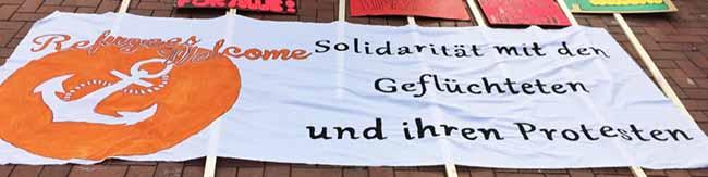 """Vernetzungstreffen: """"Refugees Welcome Dortmund"""" lädt am Samstag zu einer Kreativ-Kundgebung in die Nordstadt ein"""