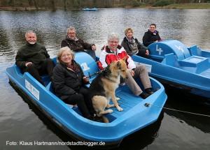 Saisonstart 2015 für Bootsverleih im Fredenbaumpark