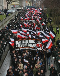 "Nazi-Demonstration am 10. Todestag von Thomas ""Schmuddel"" Schulz"