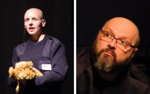 Premieren: 7. Sprechstunde, Borsig Blinks von Rolf Dennemann, Borsig 11 mit den Schauspielern Denise Rech und Matthias Hecht