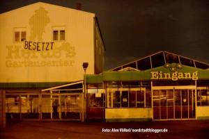 Avanti hat das ehemalige Herdes Gartencenter in der Nordstadt besetzt.