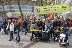 Rund 1000 Menschen nahmen am Heinrich-Czerkus-Gedächtnislauf in die Bittermark teil. Foto: Wolfgang Hartwich