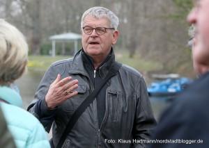Buschwindröschenwanderung des Freundeskreis Fredenbaum. Dr. Wilhelm Grote