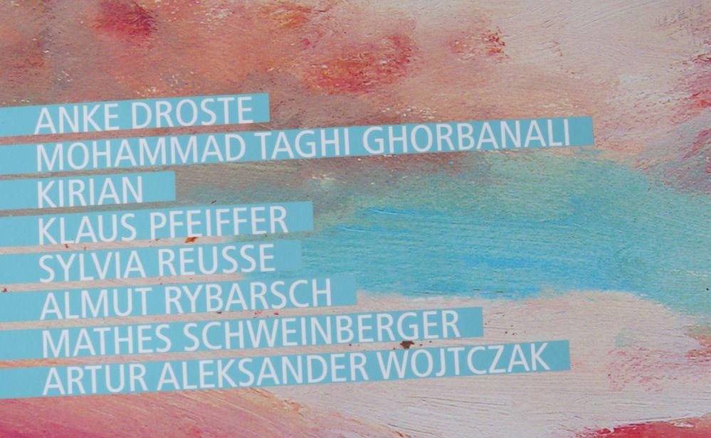 Diese Künstler stellen zurzeit im Kunstbetrieb an der Gneisenaustraße 30 aus.