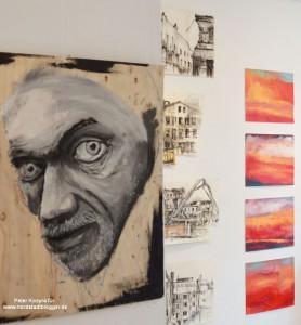 Die Galerie bietet Künstlern aus Dortmund Raum zur Präsentation.