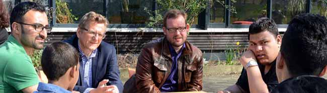 Intensive Einblicke in die Nordstadt: EU-Abgeordneter Dietmar Köster nimmt Forderung nach längerfristigen Förderungen mit