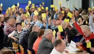 Der SPD-Parteitag sprach sich für mehr Unterstützung für Flüchtlinge aus und stellte konkrete Forderungen.