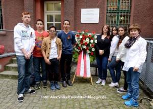 Auch aus Dortmunds israelischer Partnerstadt Netanya ist eine Gruppe angereist.