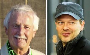 Theologe Dr. Klaus-Peter Jörns und Atheist Michael Schmidt-Salomon diskutieren.